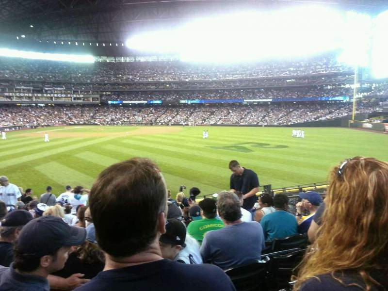 Seating view for T-Mobile Park Section 105 Row 37 Seat 8