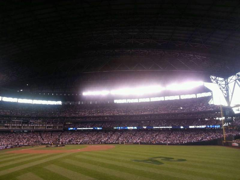 Seating view for Safeco Field Section 105 Row 37 Seat 6
