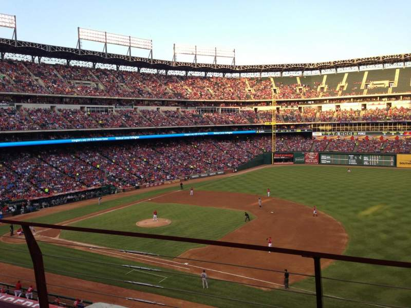 Seating view for Globe Life Park in Arlington Section 236 Row 2 Seat 2