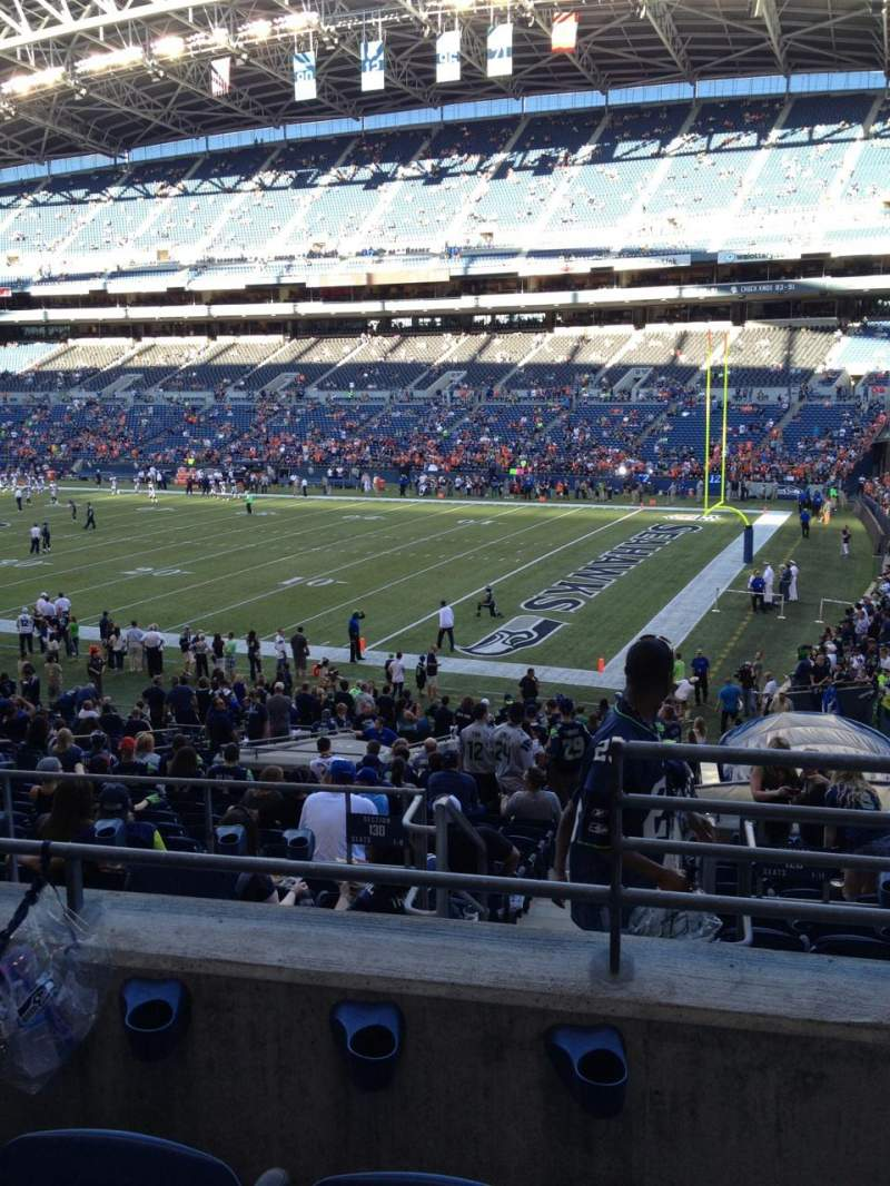 Centurylink Field, section: 230, row: C, seat: 2