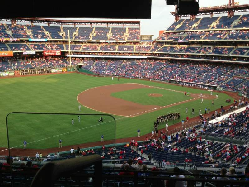 Seating view for Citizens Bank Park Section Suite 9