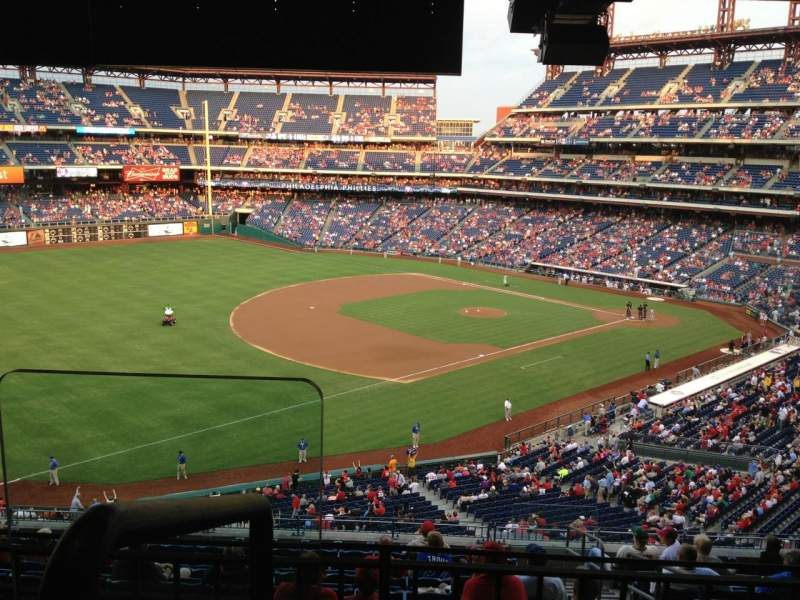 Seating view for Citizens Bank Park Section Suite 9 Row 2 Seat 10
