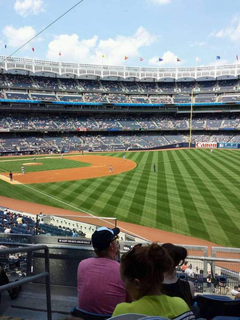 Seating view for Yankee Stadium Section 209 Row 5 Seat 18