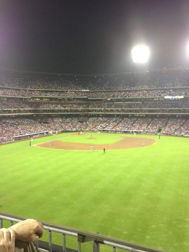 Seating view for Citizens Bank Park Section 201 Row 2 Seat 6