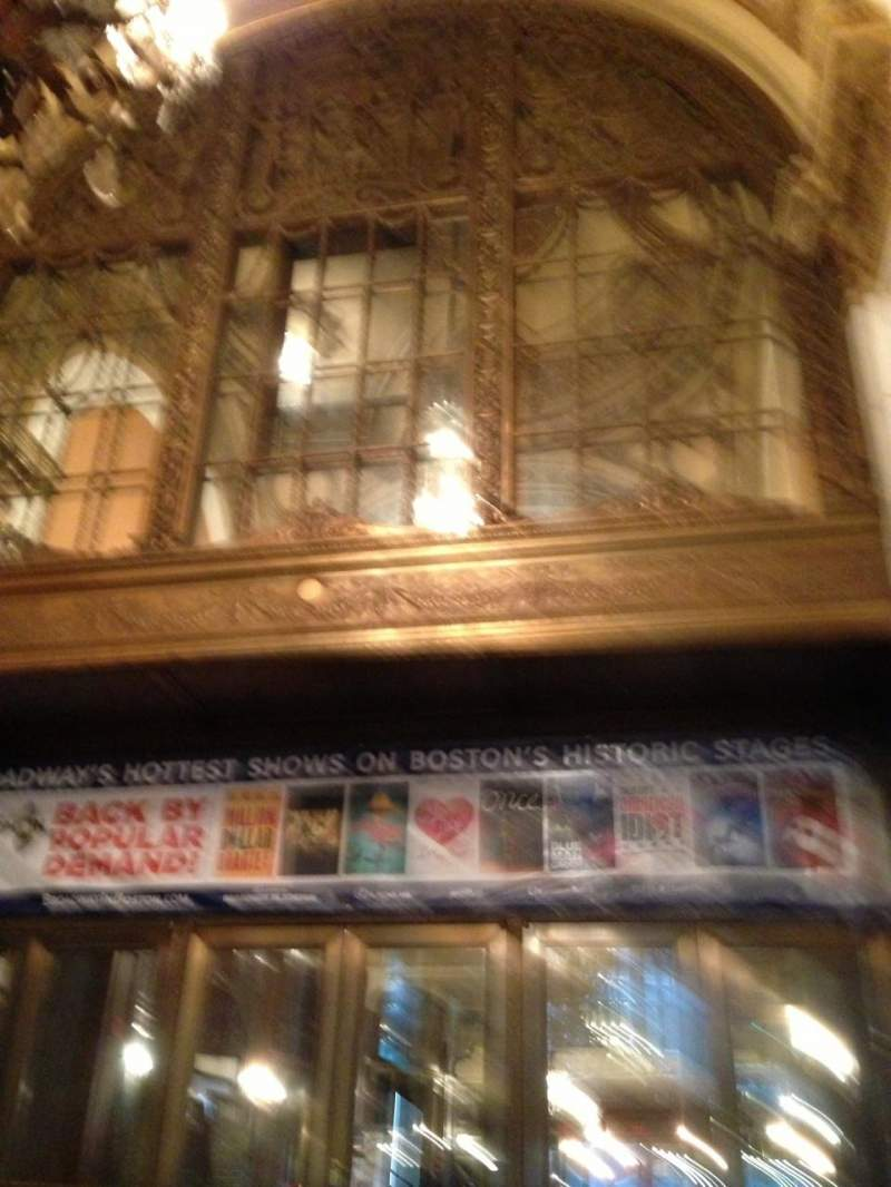 Seating view for Boston Opera House Section Drsrgt Row BB Seat 34