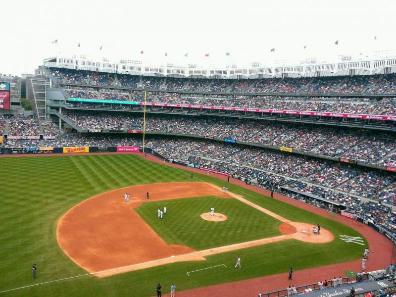 Seating view for Yankee Stadium Section 326 Row 1 Seat 26