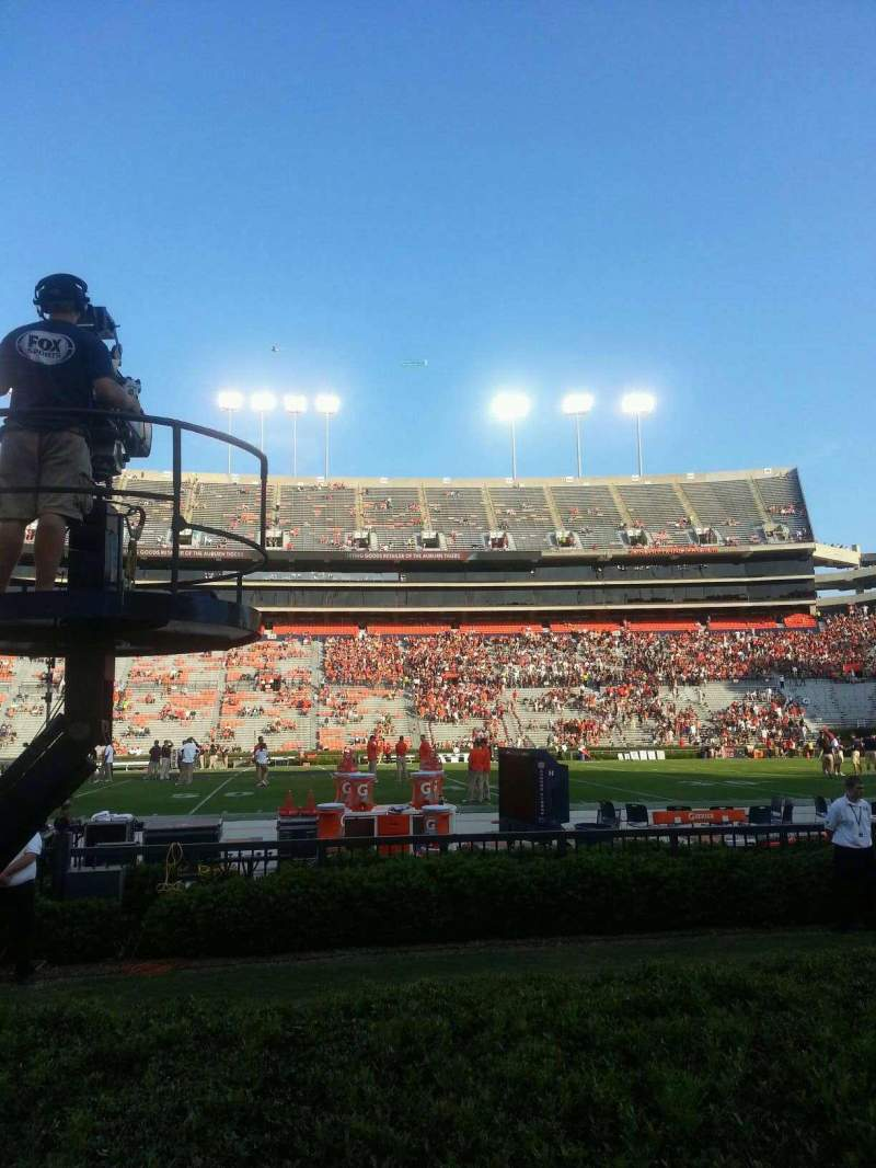 Seating view for Jordan-Hare Stadium Section 6 Row 3 Seat 6