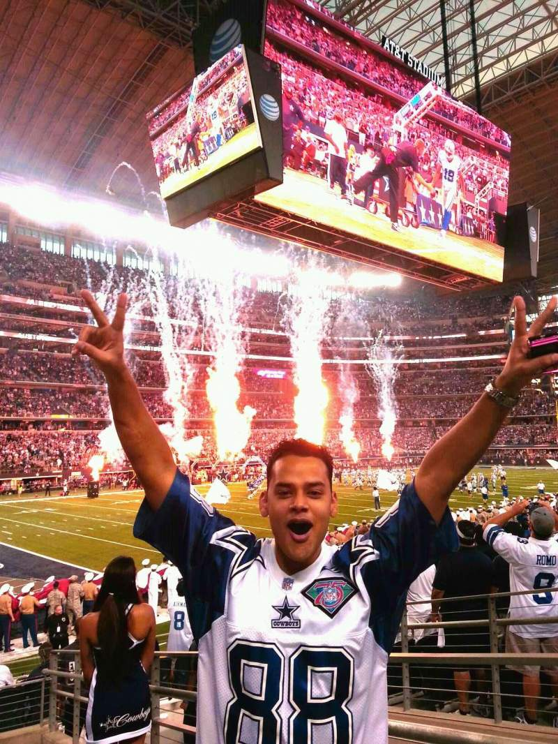 Seating view for At&t Stadium Section 144 Row 12 Seat 1