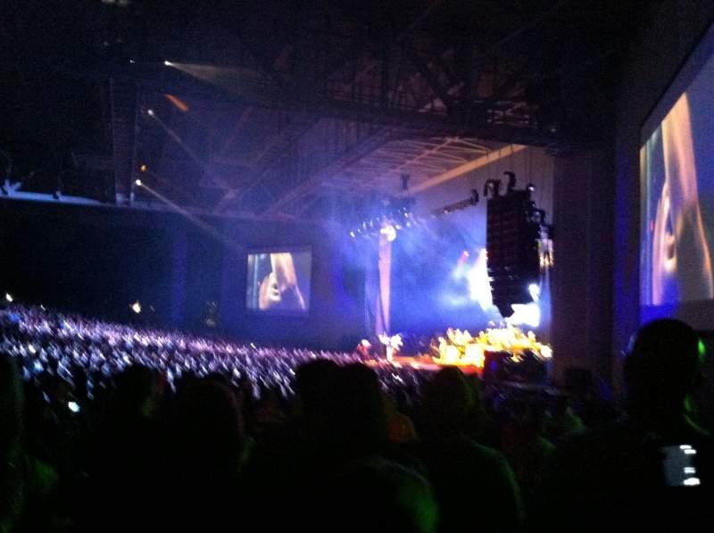 PNC Music Pavilion, section: 4, row: K, seat: 4