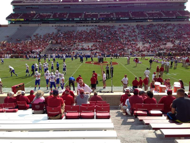 Seating view for Gaylord Memorial Stadium Section 6 Row 16 Seat 1