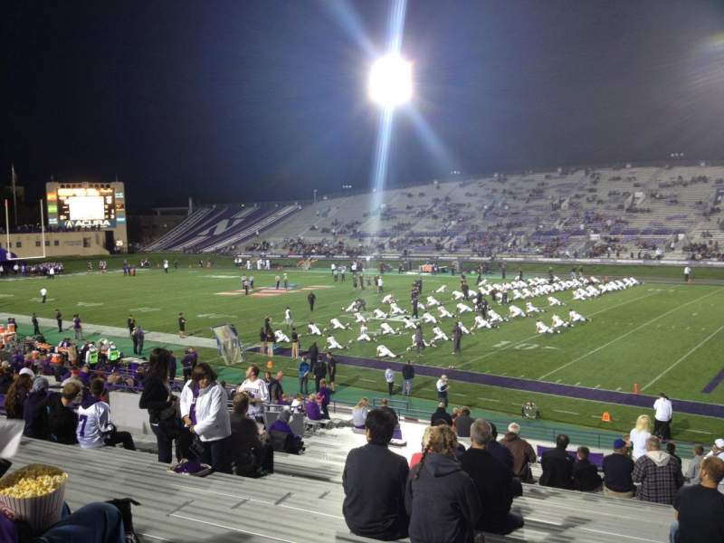 Seating view for Ryan Field Section 125 Row 31 Seat 7