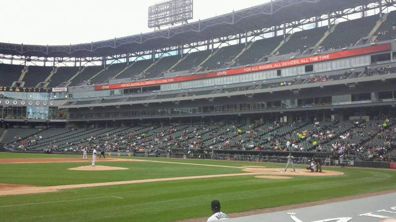Seating view for Guaranteed Rate Field