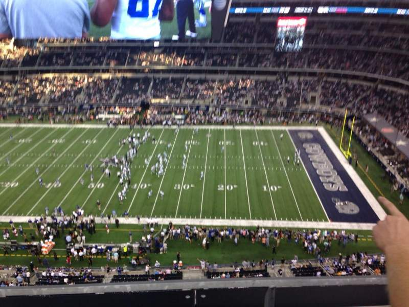 Seating view for AT&T Stadium Section 441 Row 2 Seat 15