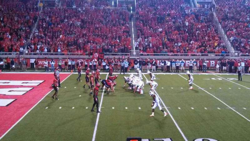 Seating view for Rice-Eccles Stadium Section W14 Row 8 Seat 6