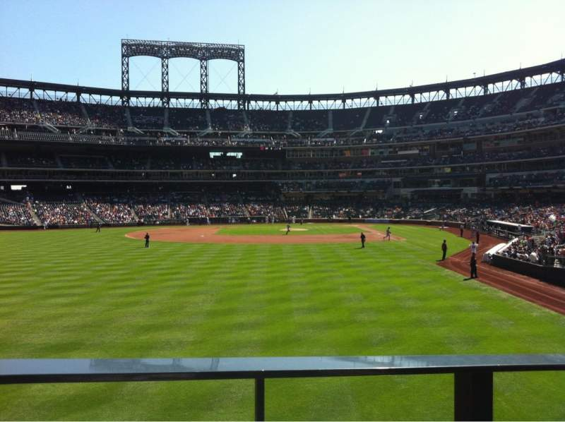 Seating view for Citi Field Section 134 Row G Seat 13