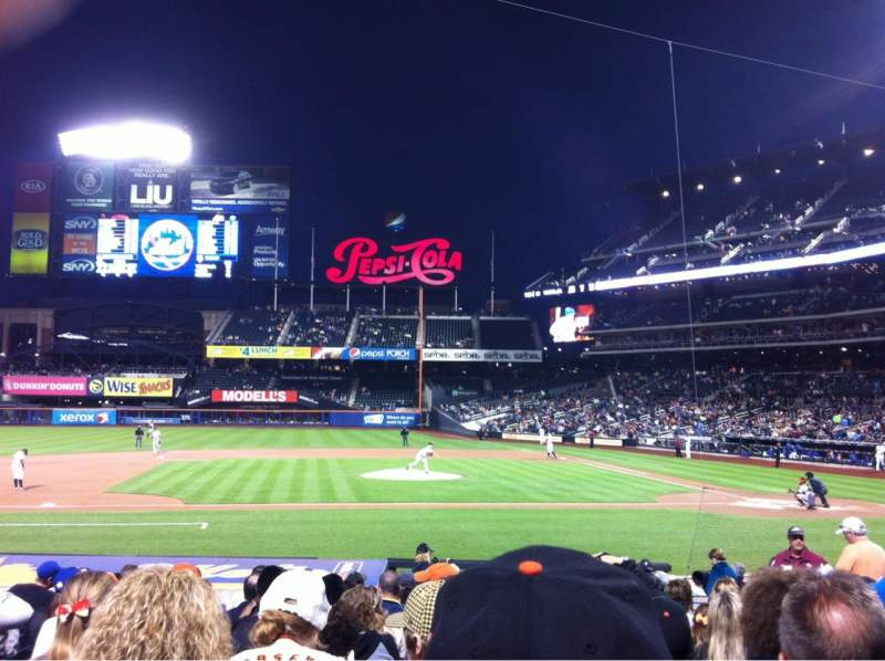 Seating view for Citi Field Section 121 Row 13 Seat 9