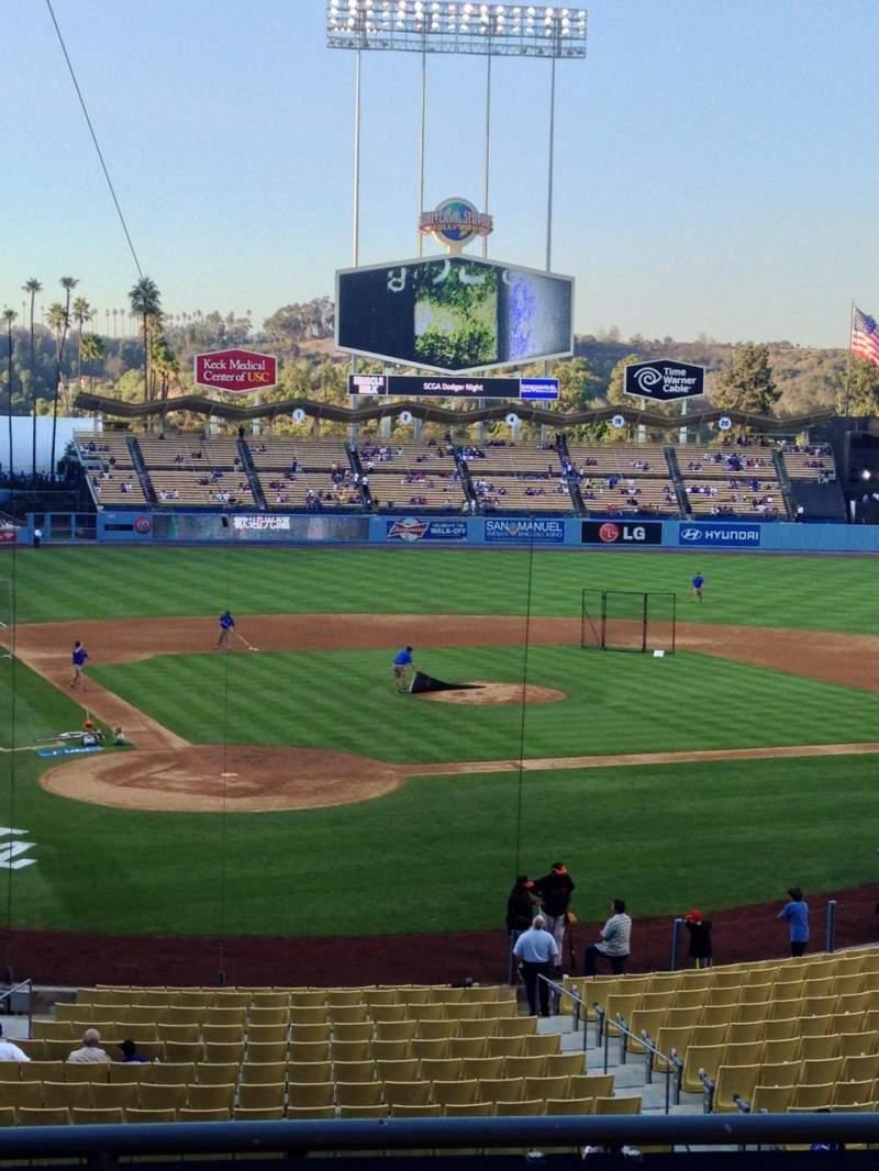 Dodger Stadium, section: 114LG, row: D, seat: 1