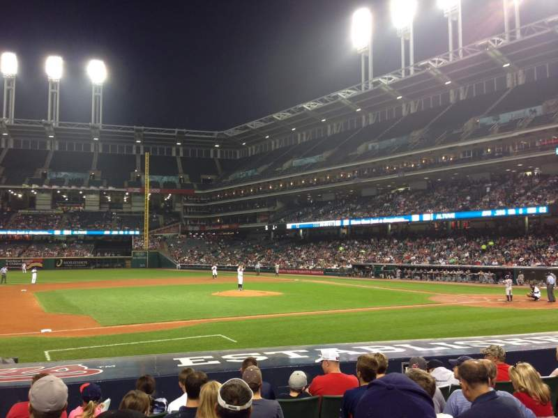 Seating view for Progressive Field Section 163 Row N Seat 7