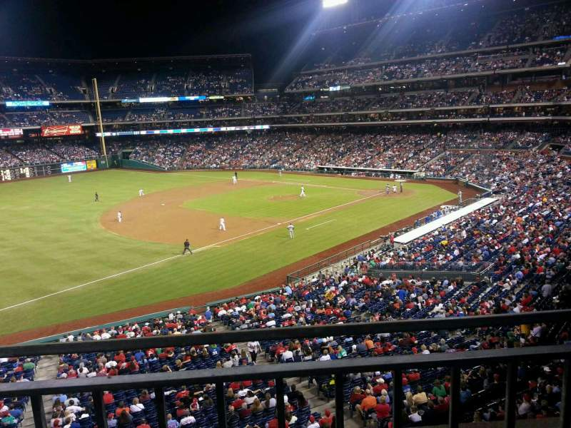 Seating view for Citizens Bank Park Section 233 Row 1 Seat 6