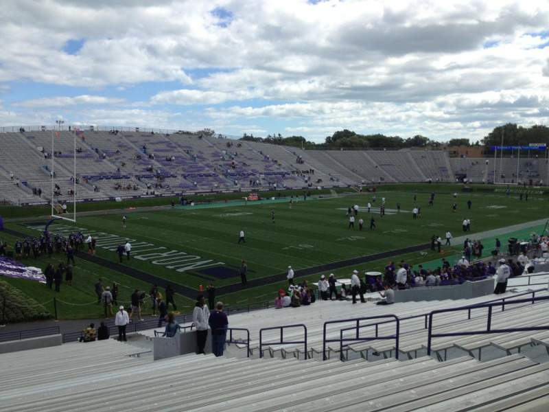 Seating view for Ryan Field Section 135 Row 39 Seat 11
