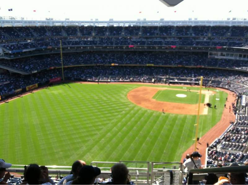Seating view for Yankee Stadium Section 434A Row 12 Seat 1