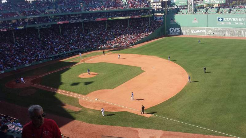 Seating view for Fenway Park Section Pavilion Row 1 Seat 16