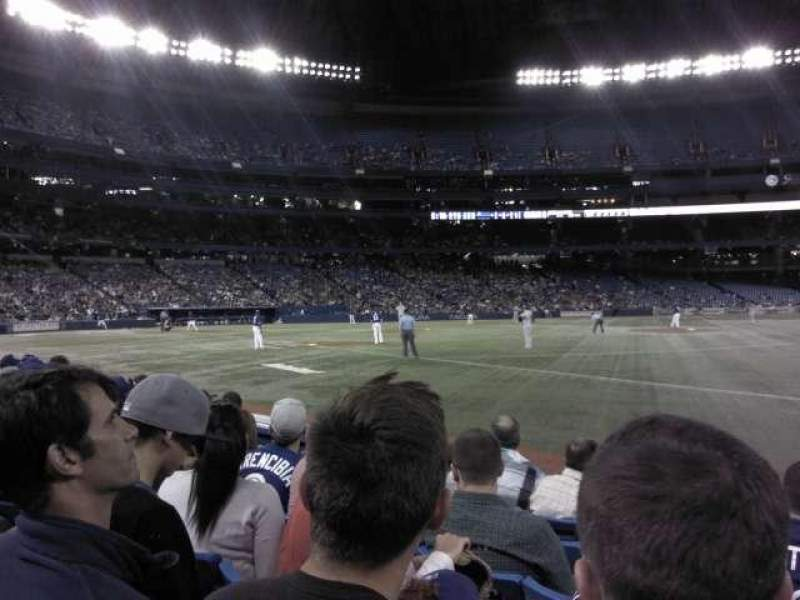 Seating view for Rogers Centre Section 113AR Row 6 Seat 9