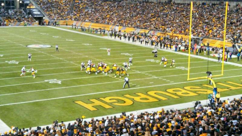 Seating view for Heinz Field Section 219 Row C Seat 6