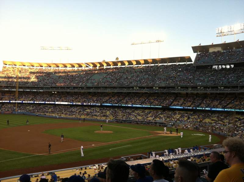 Dodger Stadium, section: 145LG, row: F, seat: 1