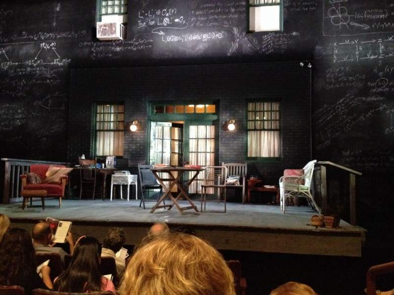Seating view for Berlind Theater Section Floor1 Row C Seat 102