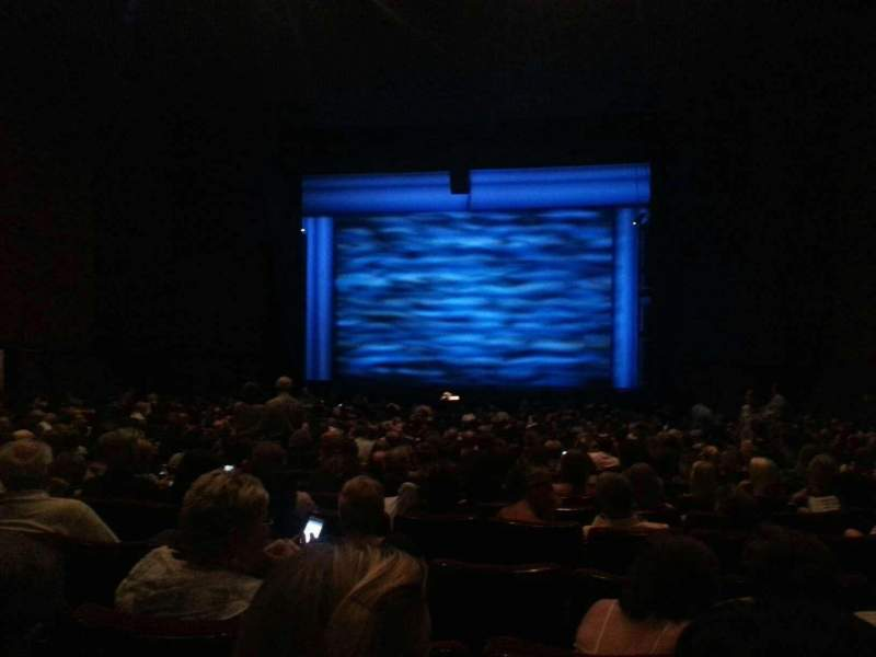 Seating view for Bob Carr Theater Section Right Row L Seat 27