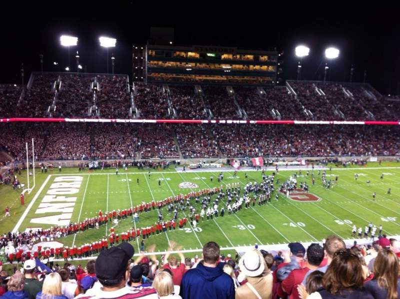 Seating view for Stanford Stadium Section 236 Row CC Seat 15