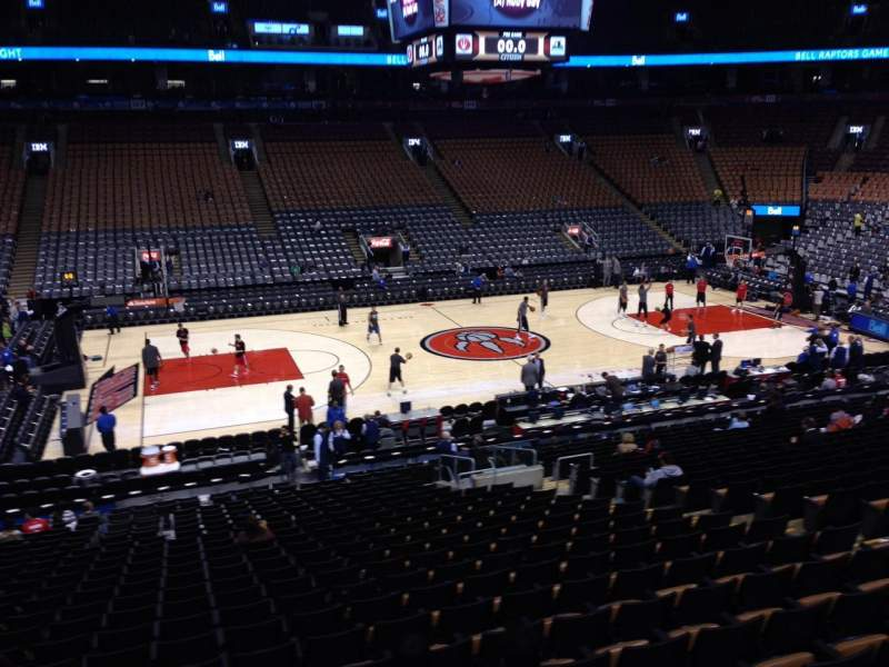Air Canada Centre Section 120 Row 25 Seat 10 Toronto