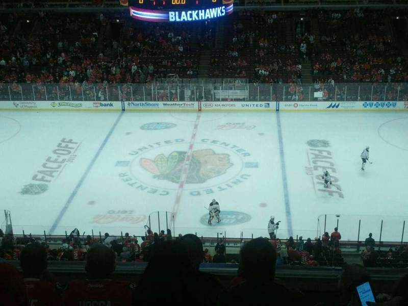 Seating view for United Center Section 334 Row 5 Seat 8