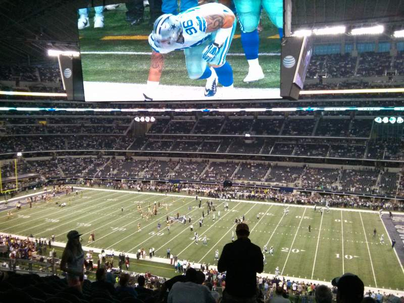 Seating view for AT&T Stadium Section C333 Row 13 Seat 9