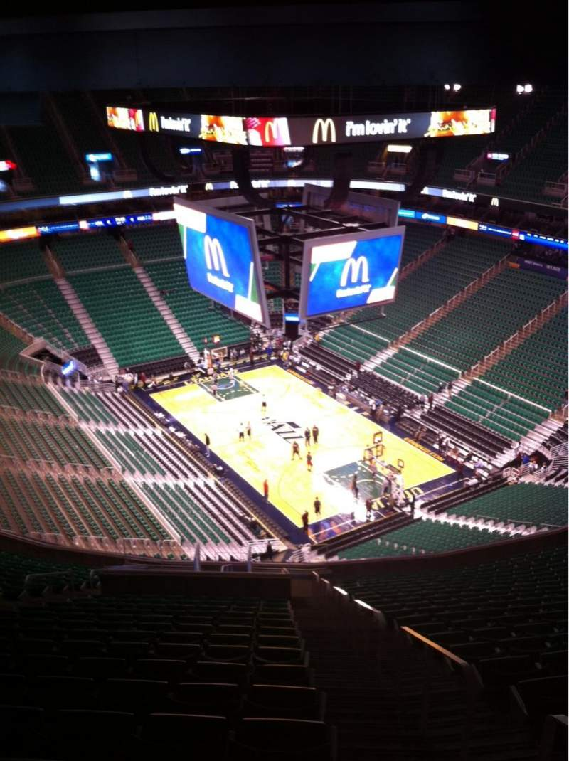 Seating view for Vivint Smart Home Arena Section 126 Row 21 Seat 1