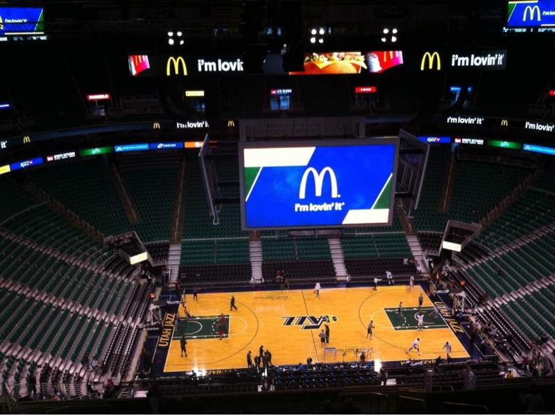 Seating view for Vivint Smart Home Arena Section 113 Row 20 Seat 6