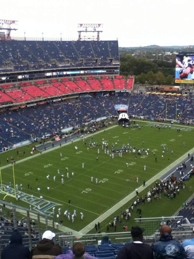Seating view for Nissan Stadium Section 321 Row V Seat 10