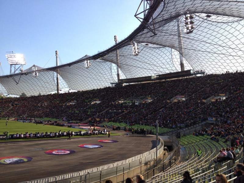 Seating view for Olympiastadion, Munich Section O2