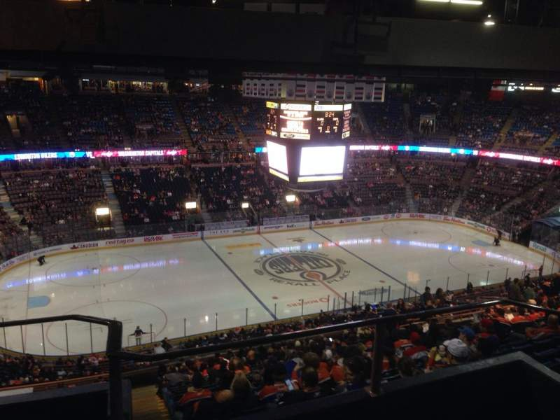 Seating view for Rexall Place Section 303 Row 44 Seat 11