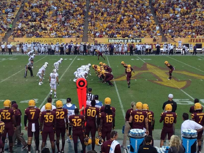 Seating view for Sun Devil Stadium Section 30 Row 11 Seat 26