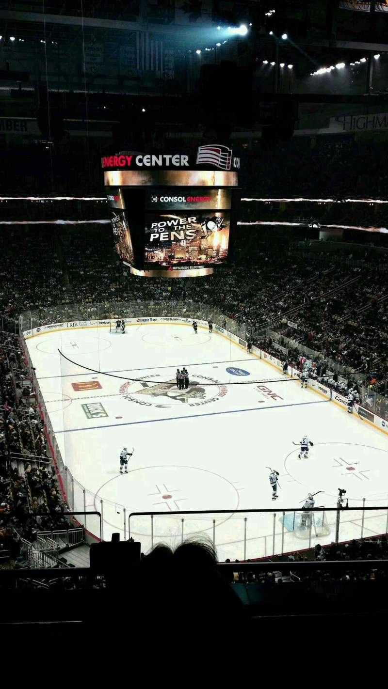 Seating view for PPG Paints Arena Section 213 Row b
