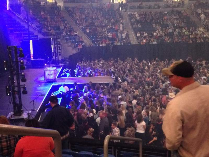 Seating view for Chaifetz Arena Section 116 Row N Seat 13