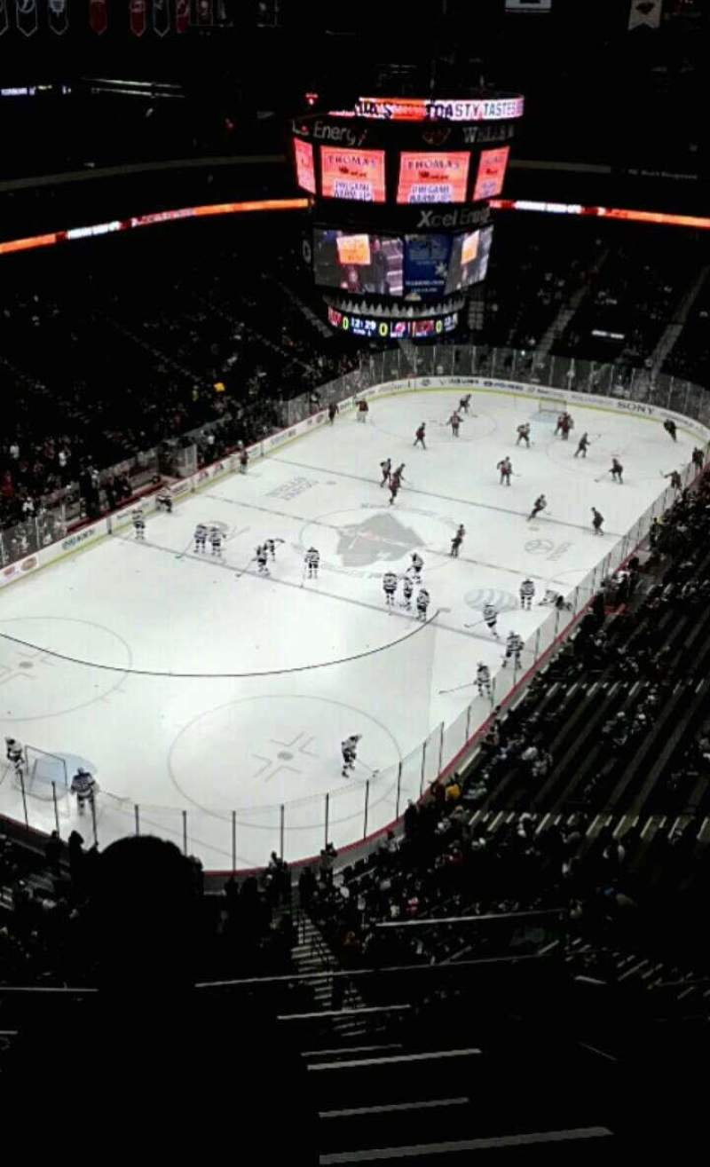 Seating view for Xcel Energy Center Section 209 Row 6 Seat 3