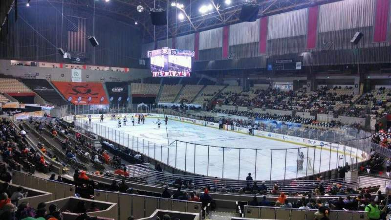 Seating view for Cow Palace Section 7 Row M Seat 14