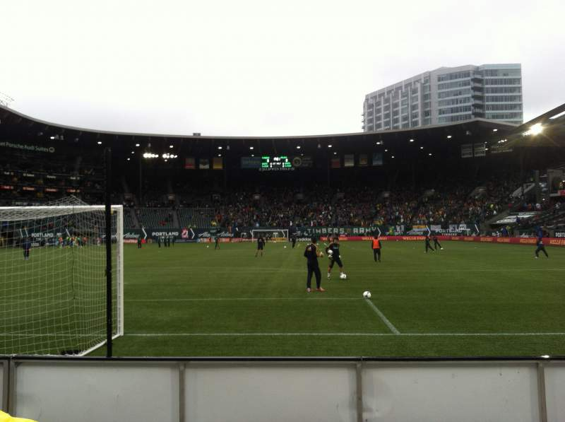 Seating view for Providence Park Section SD4 Row C Seat 15