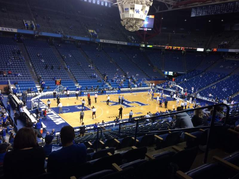 Seating view for Rupp Arena Section 34 Row U Seat 5