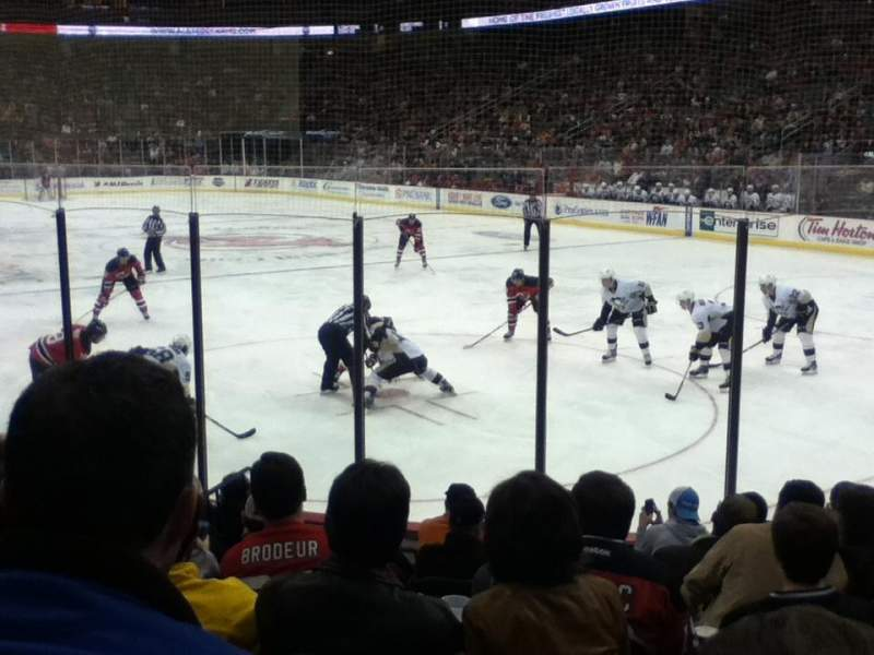 Seating view for Prudential Center Section 1 Row 9 Seat 11