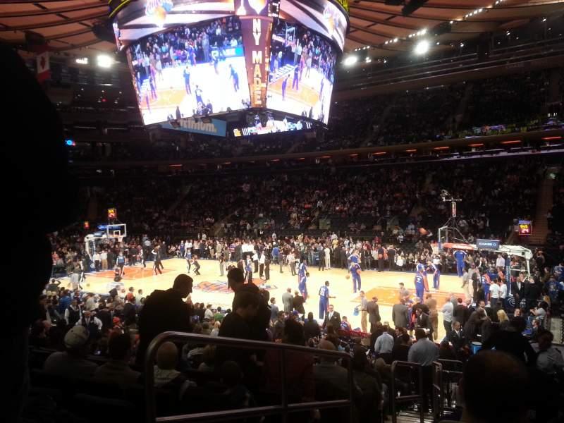 Lovely Madison Square Garden Bridge Seats