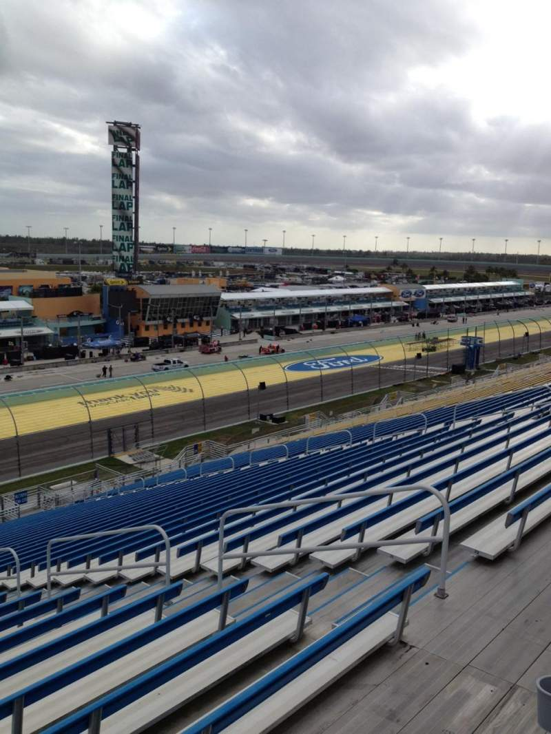Seating view for Homestead-Miami Speedway Section 337 Row 33 Seat 8